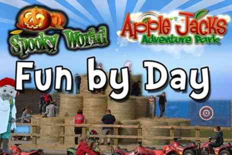 Farmland Cheshire - Family Day Ticket to Fun by Day, Spooky World - Save 41%