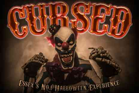 The Cursed - One day ticket to Cursed Halloween Event on 24 or 25 October - Save 34%