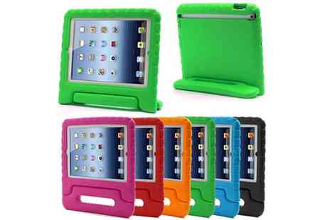 Groupon Goods Global GmbH - Kids Foam Shockproof Case for iPad Air, 2, 3, 4 Mini 2, 3 - Save 0%