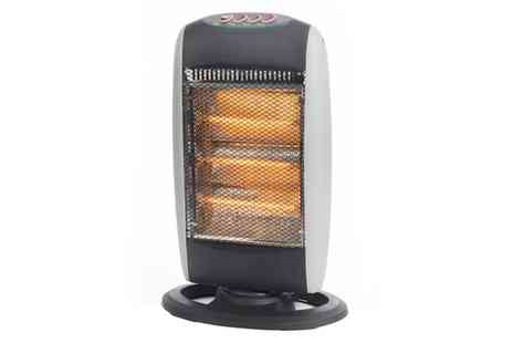 Groupon Goods Global GmbH - Prolectrix 1200W Halogen Heater with Three Heat Settings - Save 20%