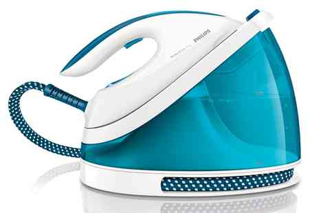 Groupon Goods Global GmbH - Philips PerfectCare Steam Generator Iron with Fabric Shaver Include Free Delivery - Save 61%
