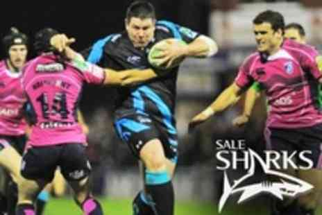 Sale Sharks - In Premiership Rugby Union Two Adult Tickets to JP Morgan Asset Management Premiership Rugby 7s Series Tournament  - Save 53%