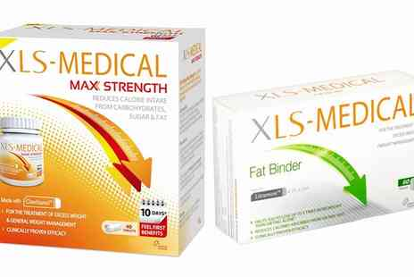 Groupon Goods Global GmbH - Medical Labbs Appetite Reducer, Fat Binder or Max Strength Weight Management Tablets - Save 43%