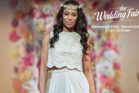 The Wedding Fair - Two standard or VIP tickets to The Wedding Fair West Midlands on 21 To 22 October - Save 41%