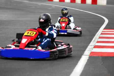 Tockwith Karting - Outdoor Karting 15 or 30 Minutes for One or Two - Save 46%