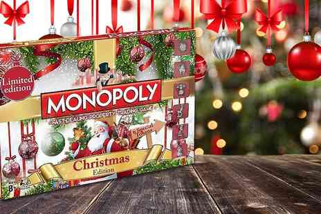 Linen Ideas - Christmas, Disney or The Nightmare Before Christmas themed Monopoly board game - Save 46%