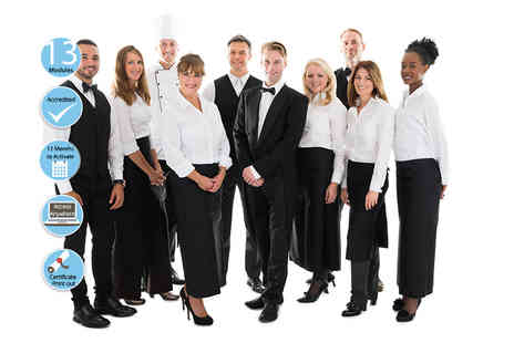 EventTrix - Accredited online hotel and catering management course - Save 84%
