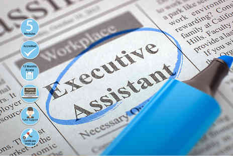 EventTrix - Accredited executive assistant course - Save 86%