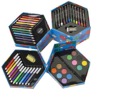 Ckent - 52pc craft art crayons box - Save 75%