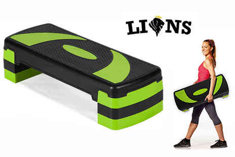 Lions Fitness - Yoga cardio aerobic stepper - Save 67%