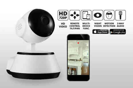 Mobi Trends - HD home security camera with motion detection system - Save 81%