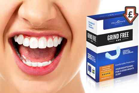 Groupon Goods Global GmbH - One, Two, Three or Four Stella White Grind Free Dental Night Guards - Save 0%