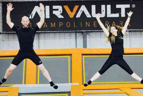 Air Vault - One, Three or Six Trampoline Fitness Sessions - Save 25%