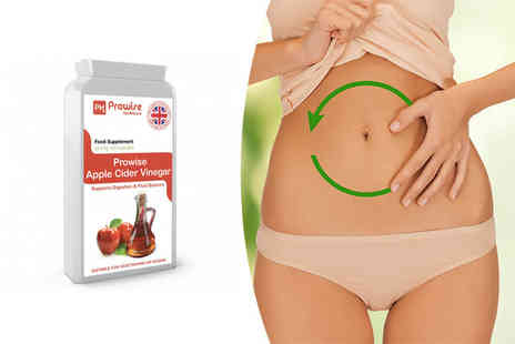 Prowise Healthcare - Four month supply of apple cider vinegar capsules - Save 67%