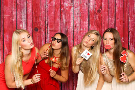 Photobooth Creative - Two hours of photobooth hire with attendant and props - Save 53%
