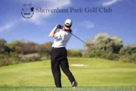 Shrivenham Park Golf Club - 18 Holes of Golf For Two Plus Food and Drink Each - Save 71%