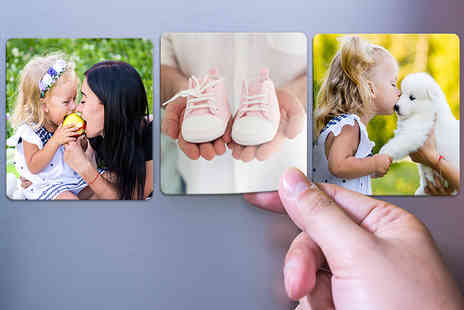 Photo Gifts - Set of 36 50mm x 50mm photo fridge magnets - Save 84%