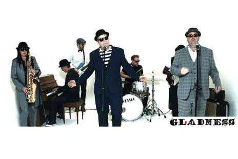 2 Funky Music Cafe - Two tickets to the Gladness Madness tribute show plus a drink each - Save 51%