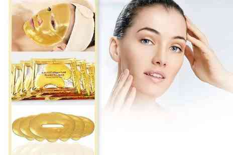 Forever Cosmetics - Gold collagen masks bundle - Save 95%