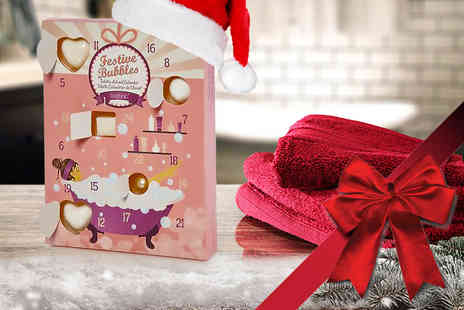 City Sharp - Luxury bath bomb advent calendar - Save 64%