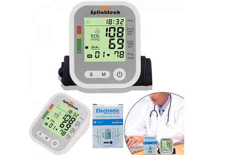 Product Mania - Blood pressure monitor - Save 60%