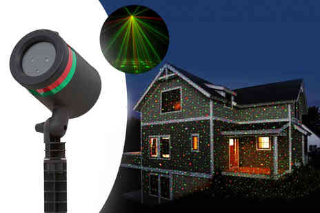 DM Logistic Solutions - Christmas laser projector - Save 59%