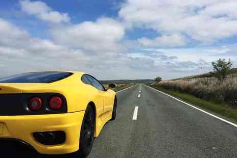 Golden Moments - 20 or 45 minute Ferrari motorway driving experience - Save 60%