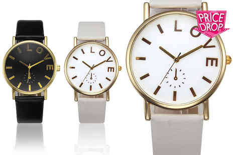 Solo Act - Ladies love watch choose from two designs - Save 76%