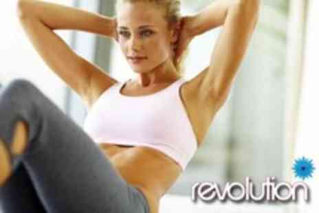 Revolution - One Month Womens Gym Membership Plus Classes and Introductory Vibration Plates Session - Save 70%