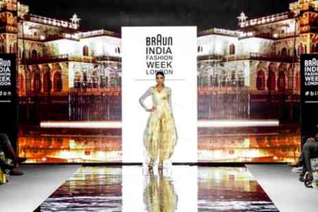 India Fashion Week - One, two or four ticket to India Fashion Week on 11 and 12 November 2017 - Save 55%