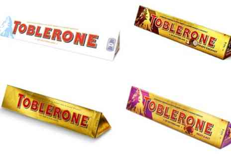 Groupon Goods Global GmbH - Three Toblerone Christmas Classics Bonanza 360g Bars - Save 23%