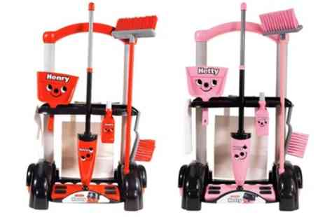 Groupon Goods Global GmbH - Casdon Henry or Hetty Cleaning Trolley - Save 24%