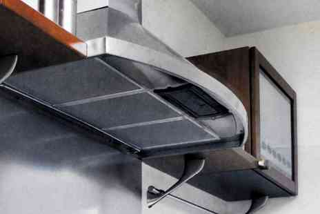 Groupon Goods Global GmbH - One, Two or Four Universal Cooker Hood Filters - Save 40%