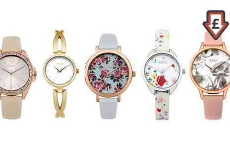 Groupon Goods Global GmbH - Oasis Womens Watch - Save 0%