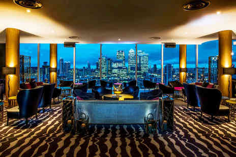 InterContinental London The O2 - Five Star Greenwich Pier Stay For Two with Complimentary 3 Course Dinner - Save 62%