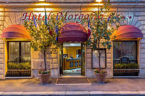Hotel Morgana - Four Star Bold Design Near The Colosseum  For Two - Save 74%