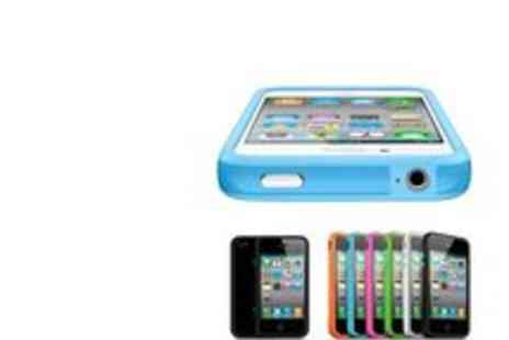 Blue bud - 6 iPhone Bumper Coloured Cases - Save 75%