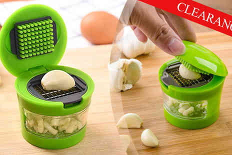 Transformational Capital - Easy Garlic Press - Save 53%