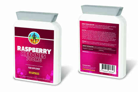 Bentleys Bargain Warehouse - 700mg Nutriburn Pure Raspberry Ketone Capsules - Save 60%