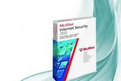 McAfee - McAfee Internet Security 2012 for up to 3 Users - Save 80%