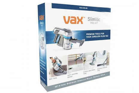 Direct Vacuums - Vax 2 in 1 Cordless Vacuum plus Optional Accessories Kit with Free Delivery - Save 43%