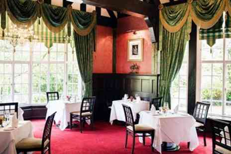 Mere Court Hotel & Conference Centre - Two course meal with bubbly for 2 in Cheshire - Save 48%