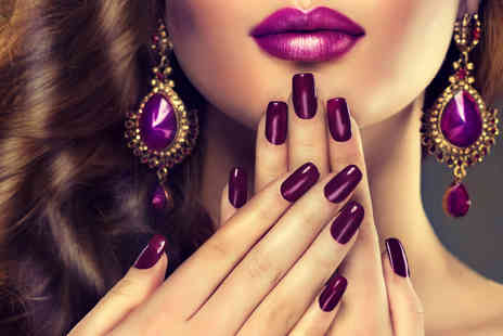 Aphrodite Hair & Beauty Studio - GelLack manicure including nail file, cuticle work and hydrating cuticle oil finish - Save 55%