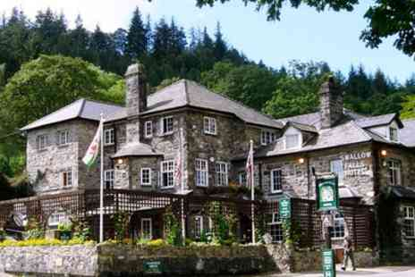 Swallow Falls Hotel - Two or Three Nights Stay for Two with Breakfast, Cream Tea and Sauna Session - Save 52%