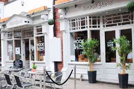 The Hook and Line - Two Course A La Carte Seafood Meal for Two or Four - Save 47%