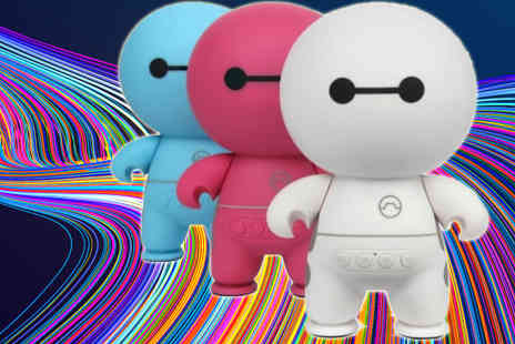 Hc Electronics Technology - Baymax Bluetooth Cartoon Stereo Speaker with TF Slot - Save 82%