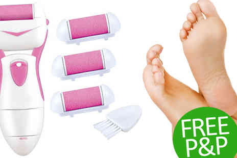 lolbargain - Pink Pedi Roller with Replacement Heads - Save 70%