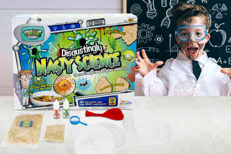 Ckent - Disgustingly nasty science kit - Save 75%