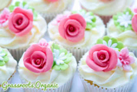 Grassroots Organic - Two hour cupcake decorating class - Save 75%