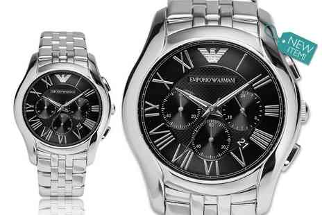 GK1706 - Mens AR1786 classic Emporio Armani chronograph watch - Save 59%